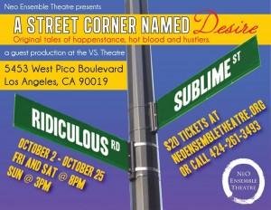 street corner flyer